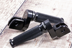 Thruxton, Bonneville T100/T120, Street Twin/Cup: Adjustable Rider Foot Pegs. (Cutaway Profile)